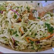Johnna's Cilantro Lime Coleslaw