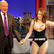 Tina Fey on Letterman